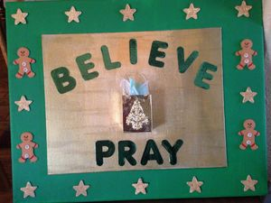 BELIEVE PRAY