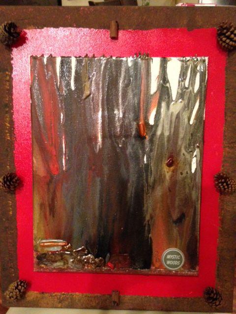MYSTIC WOODS - Pine Cones 2 - MYSTIC WOODS by Gayle