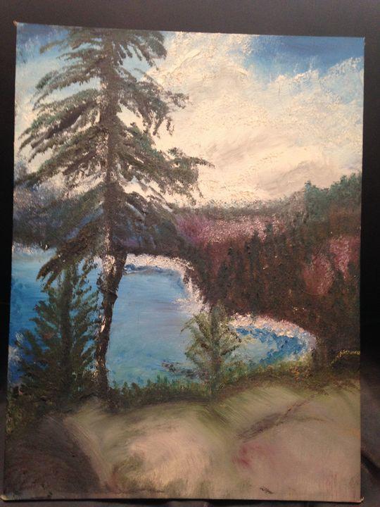 Lake Tahoe - 1991 - MYSTIC WOODS by Gayle
