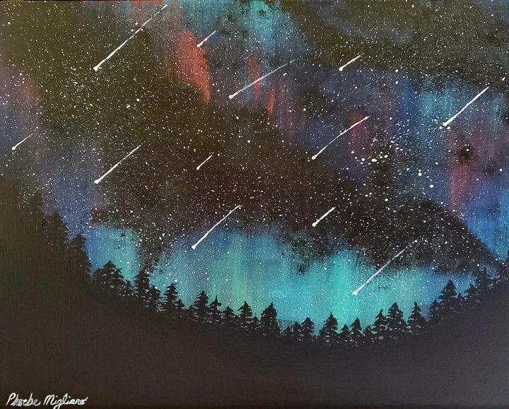Meteor Shower - Great Beyond Art