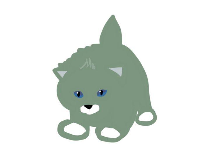 Cat green - Quick2Draw