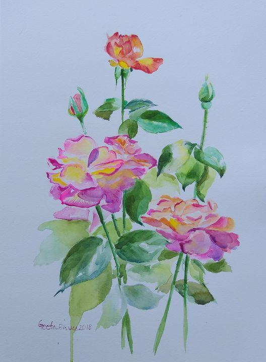 Roses - SOLD - GeetaBiswas