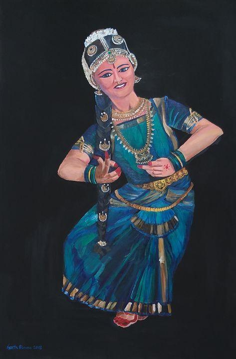 Indian classical dance - Bharatnatya - GeetaBiswas