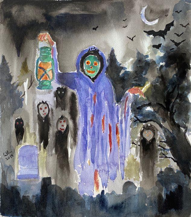 Halloween art - GeetaBiswas