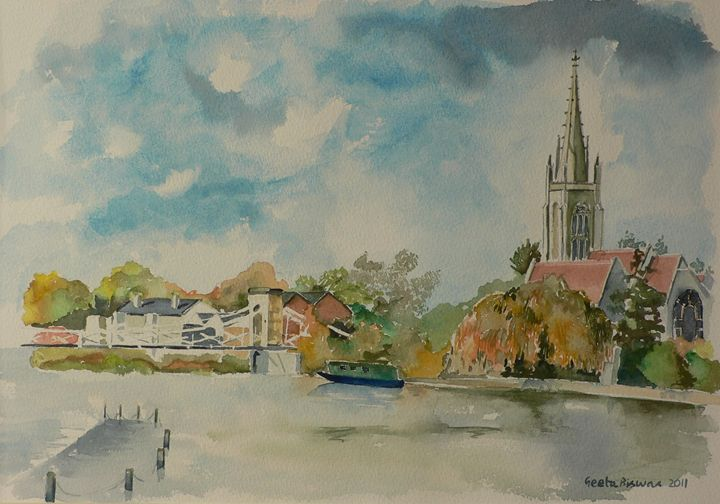 Marlow On Thames - Sold - GeetaBiswas