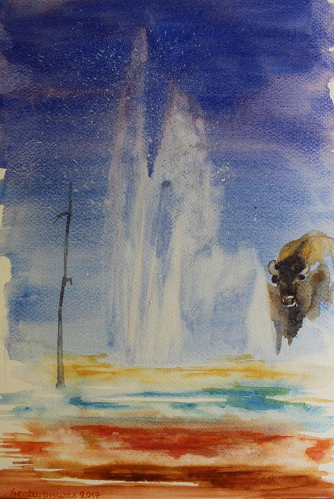 Yellowstone memories - GeetaBiswas