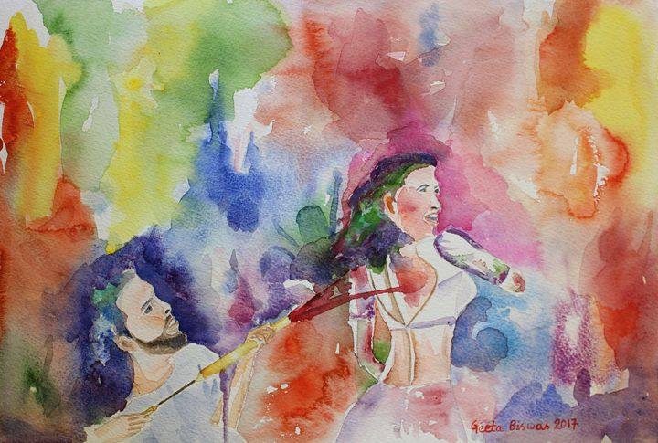 Holi, the spring festival - GeetaBiswas