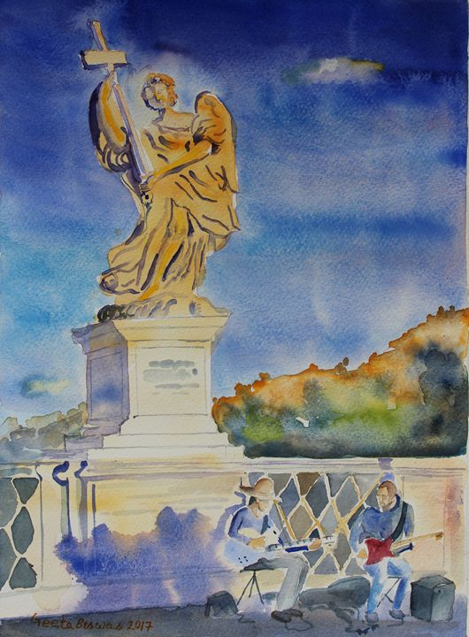 Ponte Sant'Angelo, Rome - GeetaBiswas