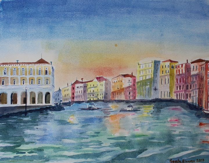 Grand Canal, Venice - GeetaBiswas