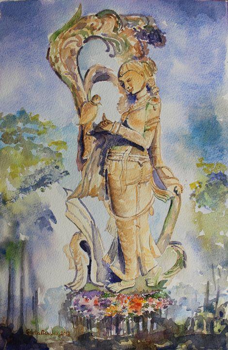 The bird messenger - GeetaBiswas