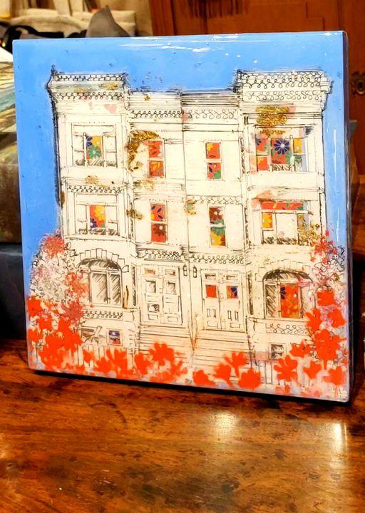Row houses - Michelle Castellands