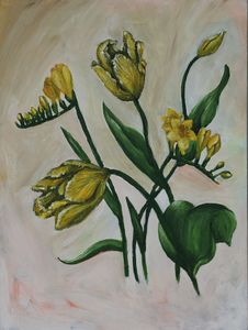 Freesia and tulips - Roxana Patricia Nita
