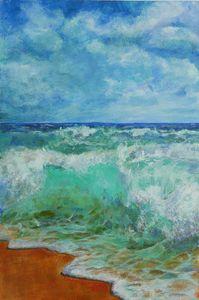 The Azure Sea - Linda Schneider