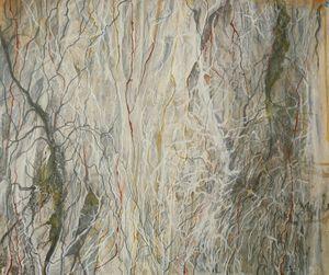 Stringy Australia Bush Landscape