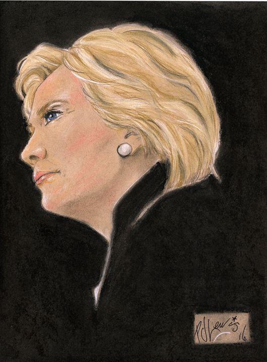 Madam President - P J Lewis Art Gallery