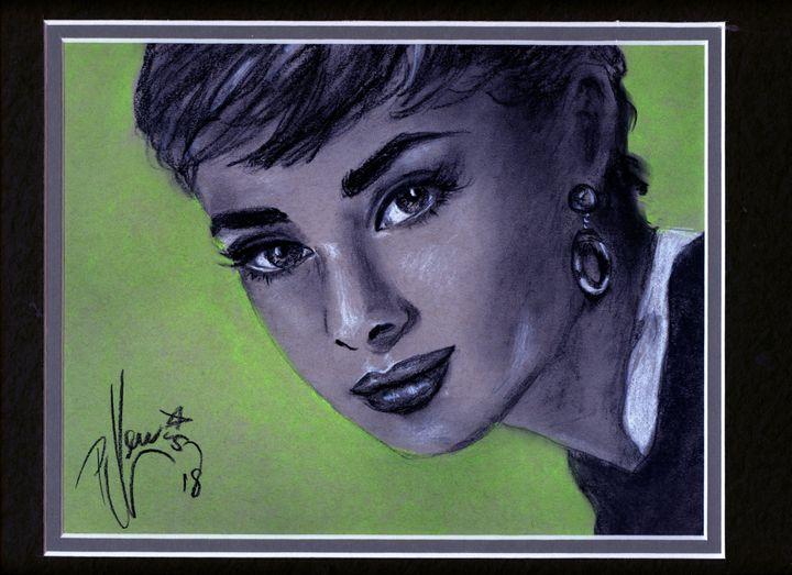 Audrey - P J Lewis Art Gallery