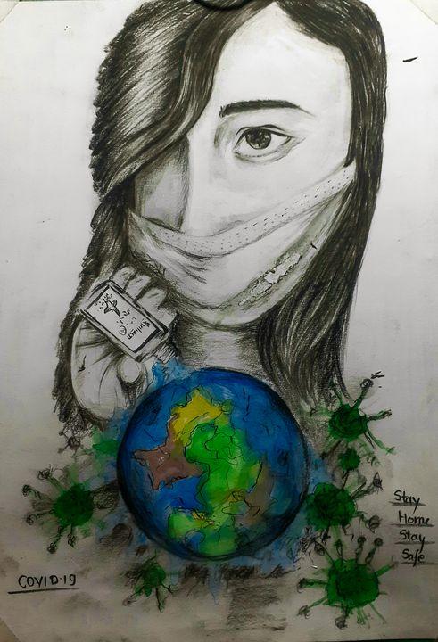 Artwork of Covid19.. -  Siddhantkumar889