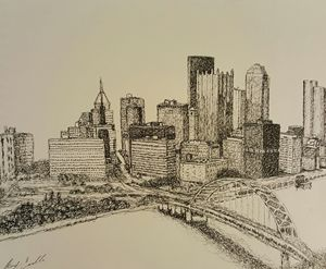 PITTSBURGH! - Fine Art by Brody