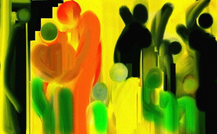 The Joint Family - Semi Digital Artwork