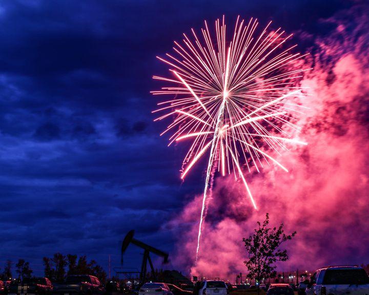 Canada Day Fireworks - CJP Photos