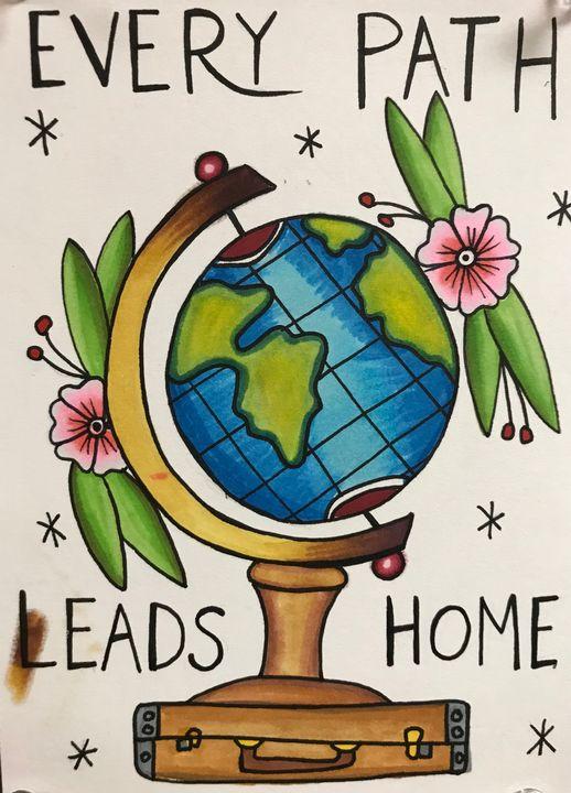 Every Path Leads Home - MGondreauMakes