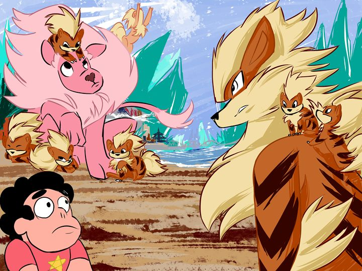 Steven and Pokemon Go - Dreamzcometroo