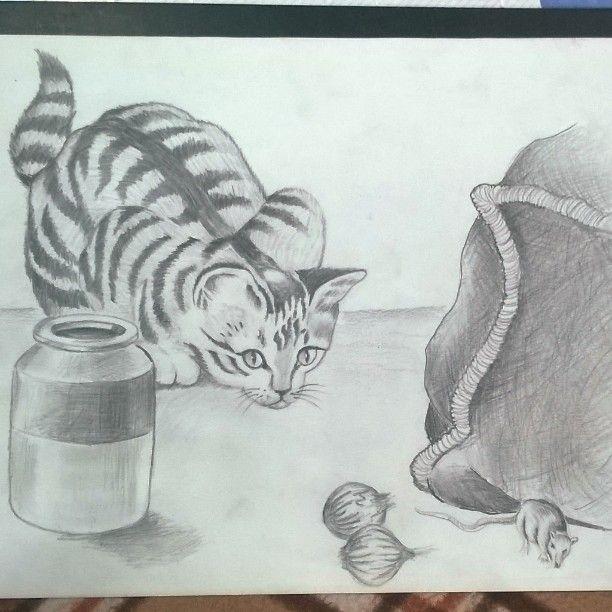the cat - 3rd Eye Artworks