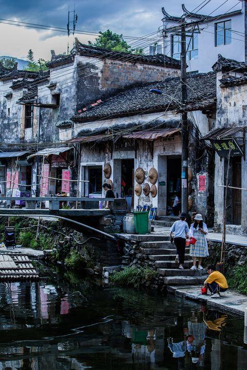 Chinese Old Village - My Secret Art