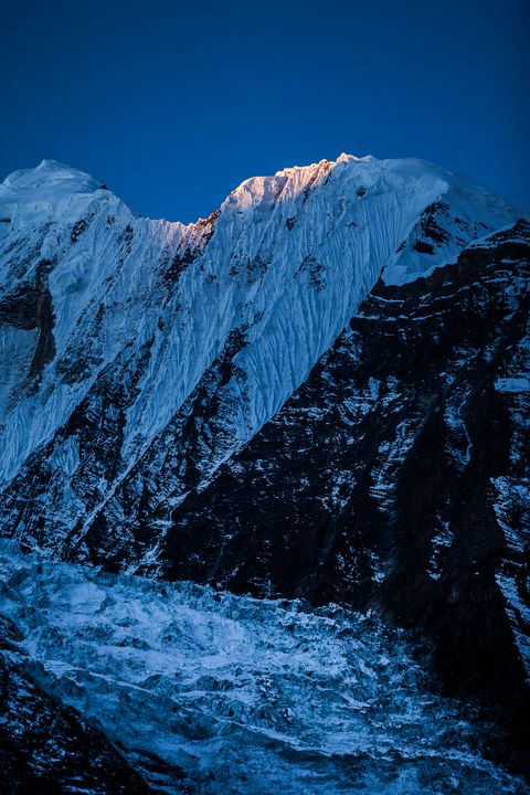 Annapurna Snow Mountain, Nepal - My Secret Art