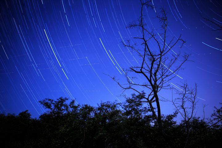 Star trails at night - My Secret Art