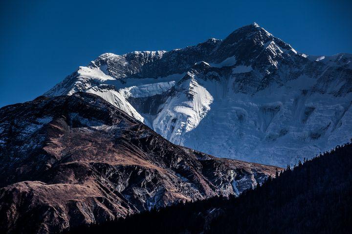 Annapurna Snow Mountain - My Secret Art