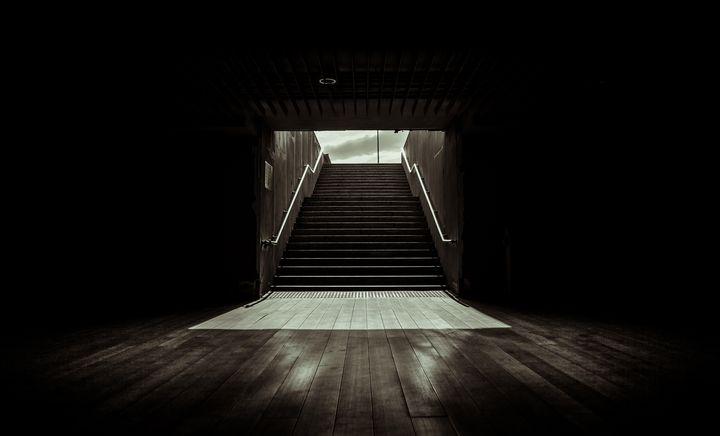 underground tunnel - My Secret Art