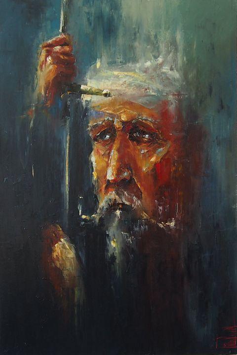 Don Quijote - PavelFilinPaintings