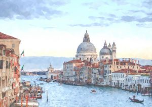Venice Basilica a Summers Day