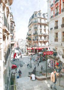 Paris Street Rue Lamarck