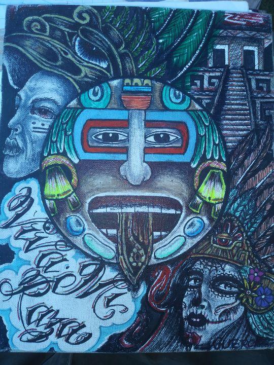 Mexica Azteca - Guero Soloe