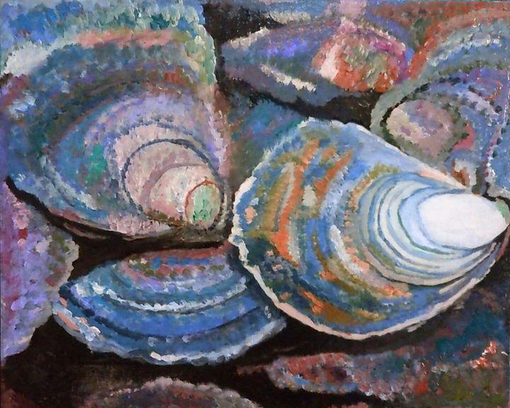 Huîtres plates - Cothy'Art