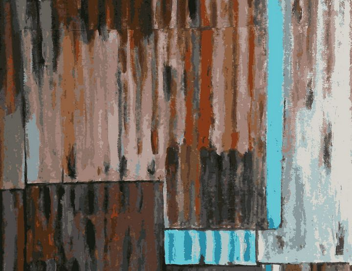 Tôle ondulée - Cothy'Art