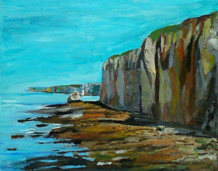 Falaise de Varengeville-sur-Mer - Cothy'Art