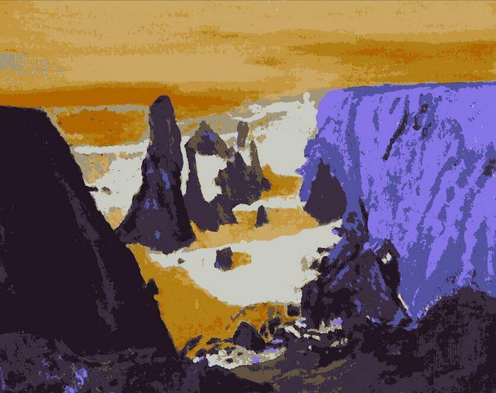 Les aiguilles de Port-Coton - Cothy'Art
