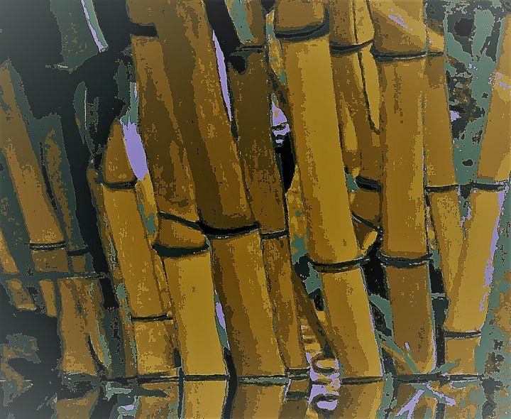 Chaumes de bambou - Cothy'Art