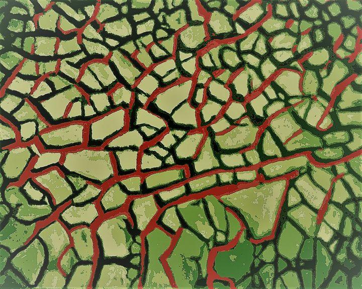 Terre desséchée - Cothy'Art