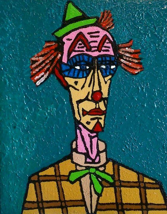 Clown Écossais. - Cothy'Art