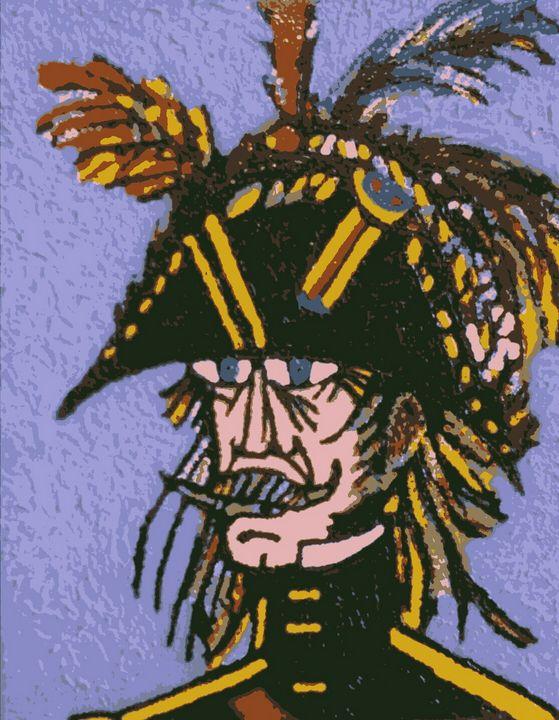 Révolutionnaire au Bicorne - Cothy'Art