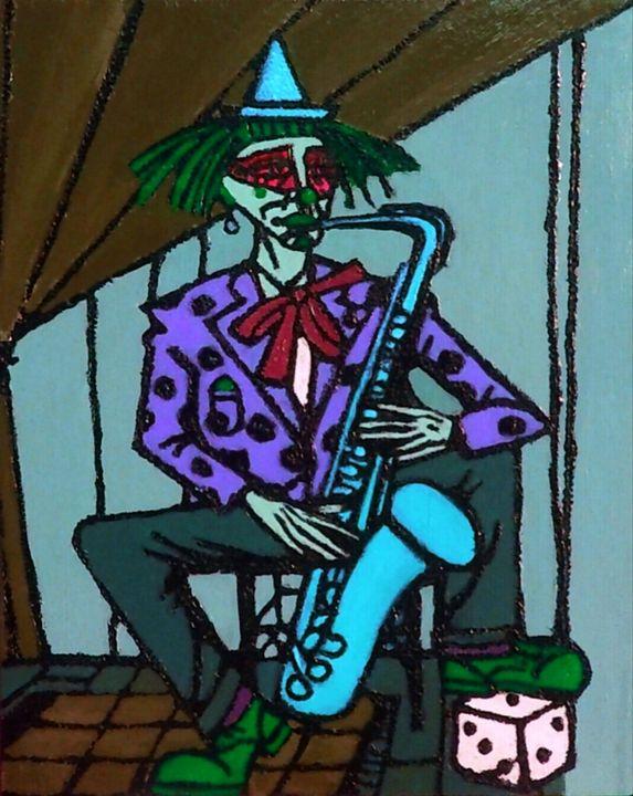 Clown Saxophoniste - Cothy'Art