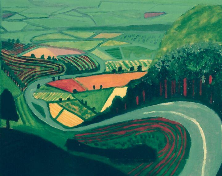 Route de campagne - Cothy'Art