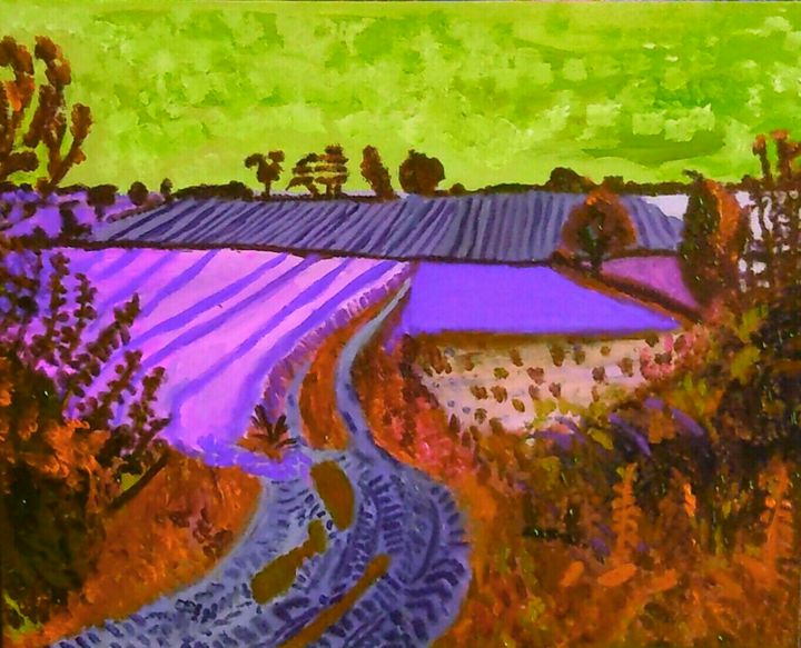 Chemin de campagne - Cothy'Art