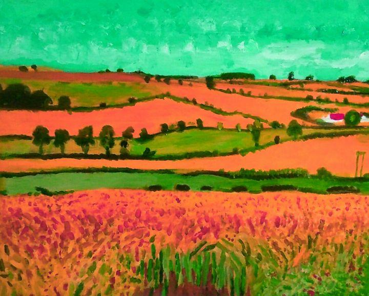 Champs de blé - Cothy'Art
