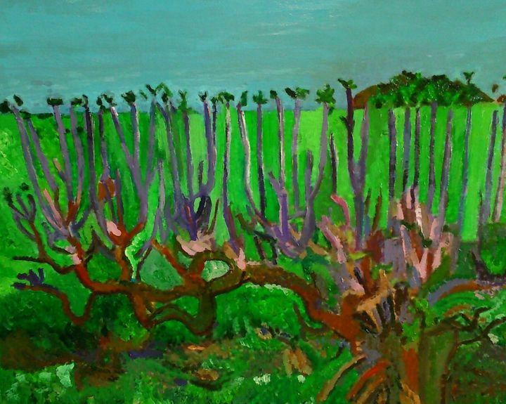 Rameaux des vignes - Cothy'Art