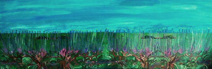 Rameaux des vignes version 2 - Cothy'Art